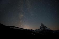 Ночное небо над Церматтом