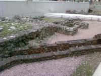 Римские руины в центре Вены
