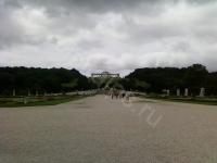 Вена. Дворец Шенбрунн. Центральная аллея