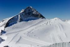 Пик Olperer, 3476 м, и трассы 9а, 9 и 11а