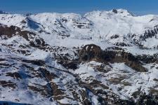 Вид с Grublspitze (2300 м), Эггальм.