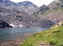 Хохзельден. Озеро на 2500 м.