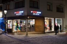 Очень хороший спортивный магазин в центре Санкт Антона.