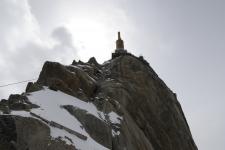 Шамони - Монблан. Aiguille du Midi (3842 m).