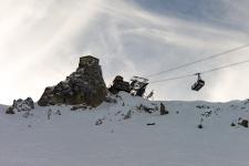 Подъемник на Saulire, 2700 м