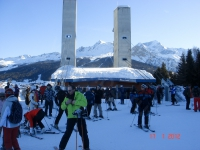 La Plagne – Vanoise Express – Transfer station to Les Arcs.