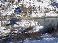 Тинь. Вид на Lac Du Chevril.