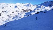 Пик Breshe de rosael 3000 метров