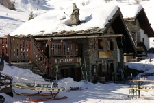 Один из лучших горных ресторанов Курмайора. Трасса № 17.