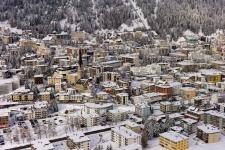 Главный район Давоса - Давос Платц (Davos Platz).
