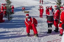 Рождественские игры Санта-Клаусов в Самнауне. Декабрь 2012.