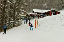 Трасса № 80 Dutyfree-Run заканчивается в Швейцарии вот этим апре-ски баром