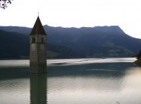 Наудерс / Решенпасс. Lago di Resia