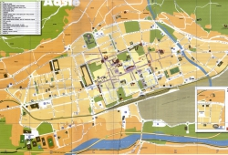 План города Аоста