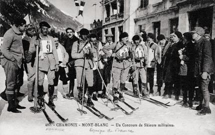 В точке старта. Соревнования военных патрулей на первой Олимпиаде стали прообразом современного биатлона